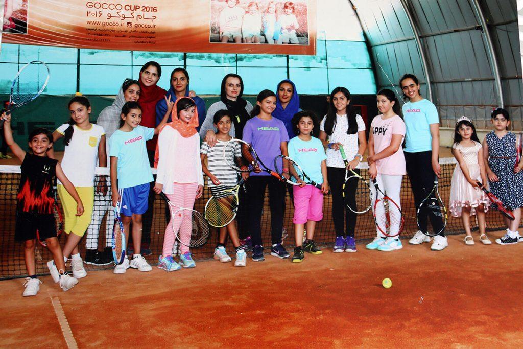 آکادمی تنیس مریم حجه فروش - عکس گالری
