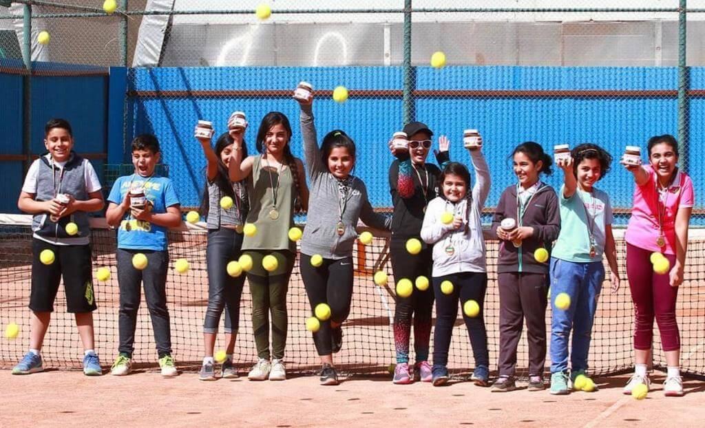 آکادمی آموزش تنیس مریم حجه - عکس گالری