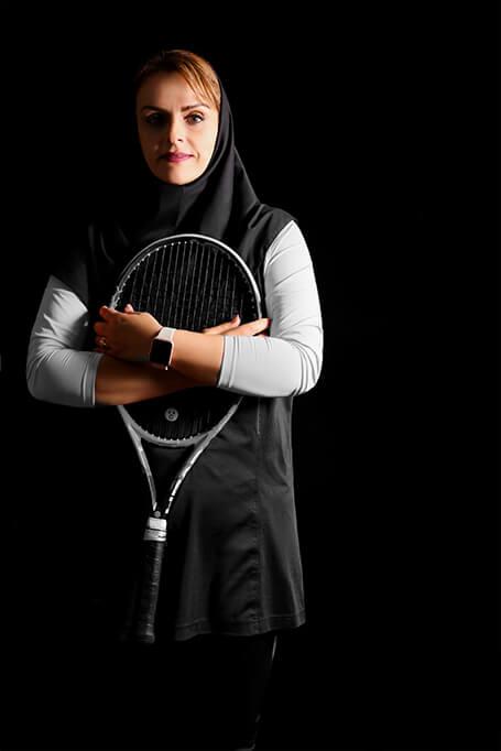 درباره مریم جحه فروش -آکادمی تنیس مریم حجه فروش - آموزش تنیس در اصفهان